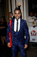 LONDON, ENGLAND - SEPTEMBER 10 :  Dr Ranj Singh leaves the TV Choice Awards 2018, at The Dorchester hotel, on September 10, 2018 in London, England.<br /> CAP/AH<br /> &copy;AH/Capital Pictures