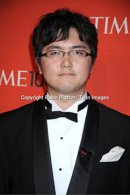 Takeshi Kanno attending The Time 100 Most Influential People in the World Gala on April 26, 2011 at Frederick P Rose Hall in The Time Warner Center in New York City.