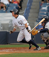 May 14, 2010: .Catcher Mitch Abeita of the Tampa Yankees during a game at George M Steinbrenner Field in Tampa, FL. Tampa is the Florida State League High Class-A affiliate of the New York Yankees. Photo By Mark LoMoglio/Four Seam Images