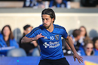 San Jose, CA - Saturday May 06, 2017: Jahmir Hyka prior to a Major League Soccer (MLS) match between the San Jose Earthquakes and the Portland Timbers at Avaya Stadium.