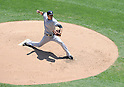 Masahiro Tanaka (Yankees), MAY 25, 2014 - MLB : New York Yankees starting pitcher Masahiro Tanaka (19) pitches during the MLB game between the Chicago White Sox and the New York Yankees at US Cellular Field in Chicago, United States. (Photo by AFLO)