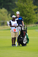 Gary Hurley (IRL) on the 1st fairway during Round 1 of the D+D Real Czech Masters at the Albatross Golf Resort, Prague, Czech Rep. 31/08/2017<br /> Picture: Golffile | Thos Caffrey<br /> <br /> <br /> All photo usage must carry mandatory copyright credit     (&copy; Golffile | Thos Caffrey)