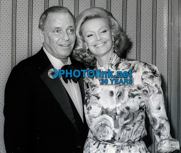 Frank Sinatra and wife Barbara Sinatra Undated<br /> Photo By John Barrett/PHOTOlink
