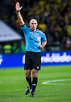 Solna 2013-11-19 Fotboll VM-kval Playoff , Sverige - Portugal :  <br /> Domare Referee Howard Webb  <br /> (Photo: Kenta J&ouml;nsson) Keywords:  Sweden Portugal portr&auml;tt portrait