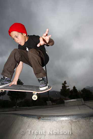 at Guthrie Skate Park