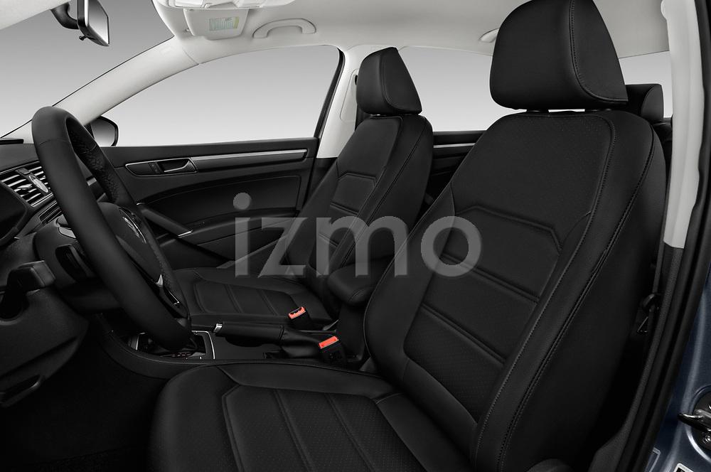 Front seat view of 2017 Volkswagen Passat R-Line 4 Door Sedan front seat car photos