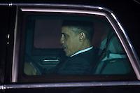 Berlin, der US-amerikanische Praesident Barack Obama am Mittwoch (19.06.13) am Flughafen Tegel in Berlin vor dem Abflug. Foto: Maja Hitij/CommonLens