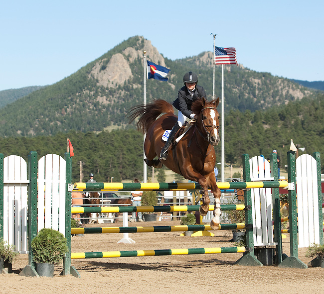 Hunter Jumper, Horse Show, summer, competition,Estes Park, Colorado, USA