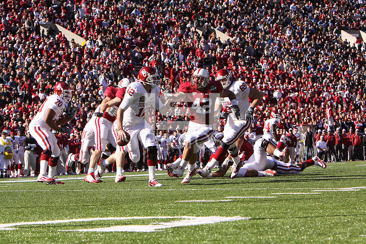 EL PASO, TX - DECEMBER 31:  Will Powers of the Stanford Cardinal during Stanford's 31-27 loss to the Oklahoma Sooners in the Sun Bowl on December 31, 2009 in El Paso, Texas.