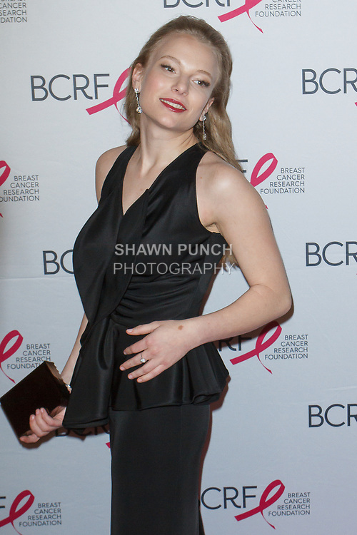 "Danielle Lauder attends The Breast Cancer Research Foundation ""Super Nova"" Hot Pink Party on May 12, 2017 at the Park Avenue Armory in New York City."