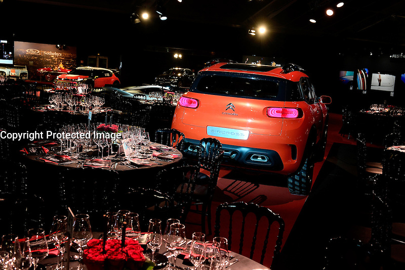 La salle joliment decoree - Soiree des grands prix du Festival Automobile International - 31 janvier 2017 - Paris - FRANCE