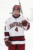 Hilary Hayssen (Harvard - 4) - The Harvard University Crimson defeated the Boston College Eagles 5-0 in their Beanpot semi-final game on Tuesday, February 2, 2010 at the Bright Hockey Center in Cambridge, Massachusetts.