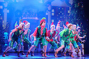 ELF THE MUSICAL opens at the Dominion Theatre, Tottenham Court Road. Picture shows: Ensemble.