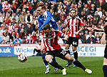 Billy Sharp of Sheffield Utd during the English League One match at  Bramall Lane Stadium, Sheffield. Picture date: April 30th 2017. Pic credit should read: Simon Bellis/Sportimage