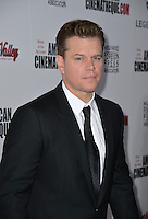 BEVERLY HILLS, CA. October 14, 2016: Matt Damon at the 30th Annual American Cinematheque Award gala honoring Ridley Scott &amp; Sue Kroll at The Beverly Hilton Hotel, Beverly Hills.<br /> Picture: Paul Smith/Featureflash/SilverHub 0208 004 5359/ 07711 972644 Editors@silverhubmedia.com