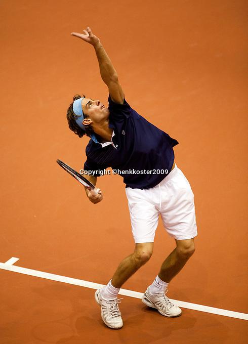 11-12-09, Rotterdam, Tennis, REAAL Tennis Masters 2009,   Peter Lucasen