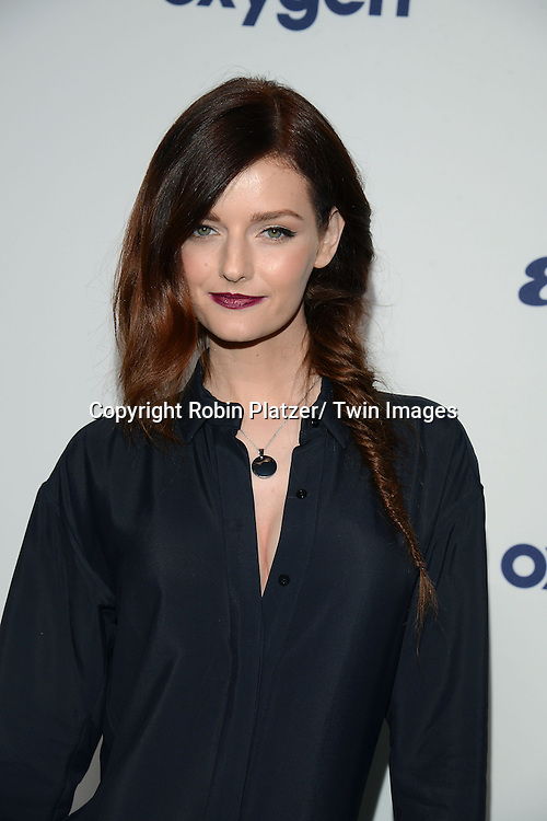 Lydia Hearst attends the NBCUniversal Cable Entertainment Upfront <br /> on May 15, 2014 at The Javits Center North Hall in New York City, New York, USA.