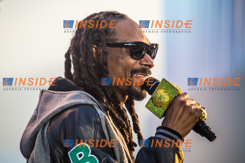 Snoop Dogg live  <br /> Festival del Cinema di Cannes 2015<br /> Foto Panoramic / Insidefoto