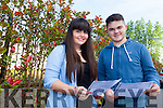 Girlfriend and boyfriend Mairead Moriarty and Jimmy Hehir from Ballyheigue collected their results first thing on Wednesday morning from Brookfield College in Monavalley.