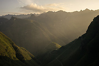 September 21, 2014 - Meo Vac (Vietnam). A view of the moutains in front of the Ma Pi Leng Pass, between Dong Van and Meo Vac. © Thomas Cristofoletti / Ruom