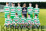 The  Killarney Celtic team that played Ballyhar in the u15 FAI National cup in Ballyhar on Saturday