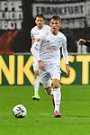 06.10.2019, Commerzbankarena, Frankfurt, GER, 1. FBL, Eintracht Frankfurt vs. SV Werder Bremen, <br /> <br /> DFL REGULATIONS PROHIBIT ANY USE OF PHOTOGRAPHS AS IMAGE SEQUENCES AND/OR QUASI-VIDEO.<br /> <br /> im Bild: Benjamin Goller (SV Werder Bremen #39)<br /> <br /> Foto © nordphoto / Fabisch
