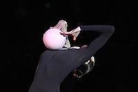 "ANNA BESSONOVA of Ukraine performs gala at 2011 World Cup Kiev, ""Deriugina Cup"" in Kiev, Ukraine on May 8, 2011."