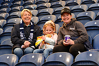 Preston North End fans look on prior to the match<br /> <br /> Photographer Richard Martin-Roberts/CameraSport<br /> <br /> The EFL Sky Bet Championship - Preston North End v Wigan Athletic - Saturday 6th October 2018 - Deepdale Stadium - Preston<br /> <br /> World Copyright &not;&copy; 2018 CameraSport. All rights reserved. 43 Linden Ave. Countesthorpe. Leicester. England. LE8 5PG - Tel: +44 (0) 116 277 4147 - admin@camerasport.com - www.camerasport.com