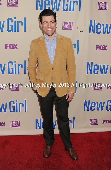 NORTH HOLLYWOOD, CA- APRIL 30: Actor Max Greenfield attends the FOX's 'New Girl' special screening at Leonard H. Goldenson Theatre on April 30, 2013 in North Hollywood, California.