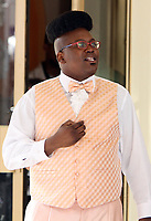 NEW YORK, NY - JUNE 4: Tituss Burgess on the set of  Unbreakable Kimmy Schmidt in New York City on June 04, 2018. <br /> CAP/MPI/RW<br /> &copy;RW/MPI/Capital Pictures