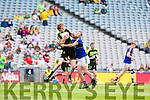 All Ireland Junior Football Final 6/8/2016<br /> Kerry's Niall O'Shea tackles Padraig Feerick of Mayo<br /> Pic : Lorraine O'Sullivan