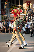 Amritsar, Punjab, India.  Guards on Parade. at the gateway between India and Pakistan.
