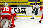 9 February 2008: University of Vermont Catamounts' forward Sarah Smiddy, a Junior from Grand Rapids, MI, in action against the Boston University Terriers at Gutterson Fieldhouse in Burlington, Vermont. The Terriers shut out the Catamounts 2-0 in the Hockey East matchup...Mandatory Photo Credit: Ed Wolfstein Photo