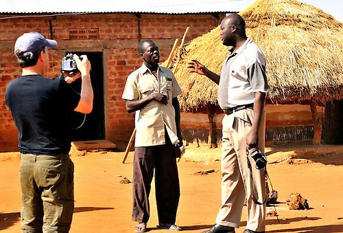 NUDEIL staff in Northern Uganda..