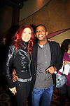 """Darnell Williams and Jade Starling singer Pretty Poison """"Catch Me I'm Fallin"""" - A Tribute to Pine Valley - All My Children's Darnell Williams """"Jesse"""" on February 17, 2013 at Valley Forge Casino Resort in King of Prussia, PA. (Photo by Sue Coflin/Max Photos)"""