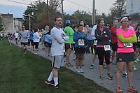 Iron Horse Half Marathon, Midway, Kentucky, October 13, 2013
