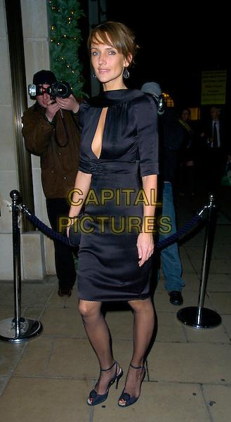 SAFFRON ALDRIDGE.The Ralph Lauren VIP dinner, Ralph Lauren, New Bond Street, London, UK..November 21st, 2006.full length black dress.CAP/CAN.©Can Nguyen/Capital Pictures