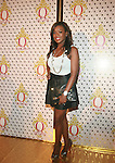 Basketball Wives' Meeka Claxton Attend the Launch of QREAM With A Q Created by Pharrell Williams, held at the New York Public Library, NY 7/20/11