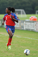 Roy Alexander Smith (3) of Costa Rica. The US U-20 Men's National Team defeated the U-20 Men's National Team of Costa Rica 2-1 in an international friendly during day four of the US Soccer Development Academy  Spring Showcase in Sarasota, FL, on May 25, 2009.