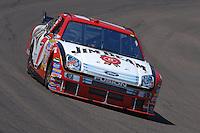 Apr 19, 2007; Avondale, AZ, USA; Nascar Nextel Cup Series driver Robby Godon (7) during practice for the Subway Fresh Fit 500 at Phoenix International Raceway. Mandatory Credit: Mark J. Rebilas