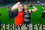 Stephen Wallace and David Griffin Ardfert players cerebrate after defeating Saint Croan's in the Intermediate Football All Ireland Club Final in Croke Park on Saturday.