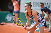 Kristyna Pliskova of Czech Republic  during Day 3 for the French Open 2018 on May 29, 2018 in Paris, France. (Photo by Baptiste Fernandez/Icon Sport)