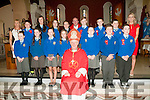 Asdee NS Confirmation : The pupils from Asdee NS who were confirmed by Bishop Ray Browne in Ballylongford Church on Friday last.