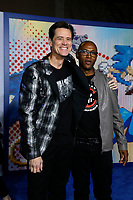 """LOS ANGELES - FEB 12:  Jim Carrey, Tommy Davidson at the """"Sonic The Hedgehog"""" Special Screening at the Village Theater on February 12, 2020 in Westwood, CA"""