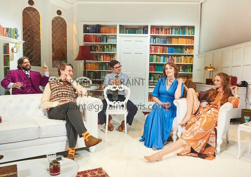 The Philanthropist by Christopher Hampton, directed by Simon Callow. With Matt Berry as Braham, Tom Rosenthal as Donald, Simon Bird as Philip, Charlotte Ritchie as Celia, Lily Cole as Araminta,Opens at The Trafalgar Studios Theatre on 14/3/18