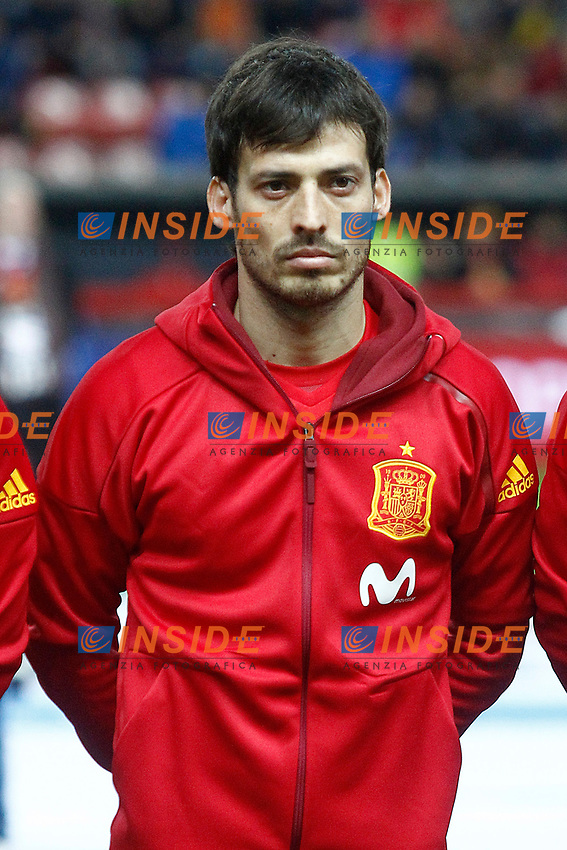 Spain's David Jimenez Silva during FIFA World Cup 2018 Qualifying Round match. <br /> Gijon 24-03-2017 Stadio El Molinon <br /> Qualificazioni Mondiali <br /> Spagna - Israele <br /> Foto Acero/Alterphotos/Insidefoto <br /> ITALY ONLY