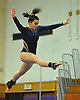 Julianne Smith of Massapequa performs on the balance beam during a Nassau County varsity gymnastics meet against Plainview JFK at McKenna Elementary School on Monday, Feb. 1, 2016.
