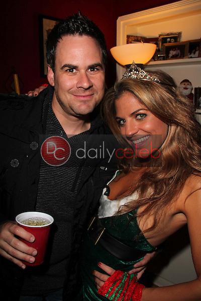 Kevin Conway, Bridgetta Tomarchio<br /> at Bridgetta Tomarchio's Birthday Party, Private Location, Los Angeles, CA 12-14-12<br /> David Edwards/DailyCeleb.com 818-249-4998