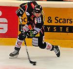 15.10.2010, Eisstadion, Heilbronn, GER, 2.Liga Eishockey, Heilbronner Falken vs Starbulls Rosenheim, im Bild Achim Moosberger (Falken #57), Foto © nph / Roth
