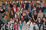 SURPRISE: Josephine (Sheehan) Barrett, Lyrecompane, seated centre, got a massive land when she walked into O'Riordas Bar/Restaurant, BallyMac on Saturday night to a surprise 60th party organised by her daughters Mary, Eileen, Margaret, Ann and Carmel, son John and daughter in law Tracy.   Copyright Kerry's Eye 2008